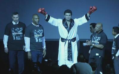 El CMB rindió homenaje a Muhammad Ali con una estatua