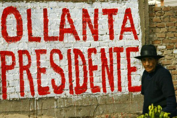Ollanta Humala ha soportado durante los cinco años de oposici&oac...