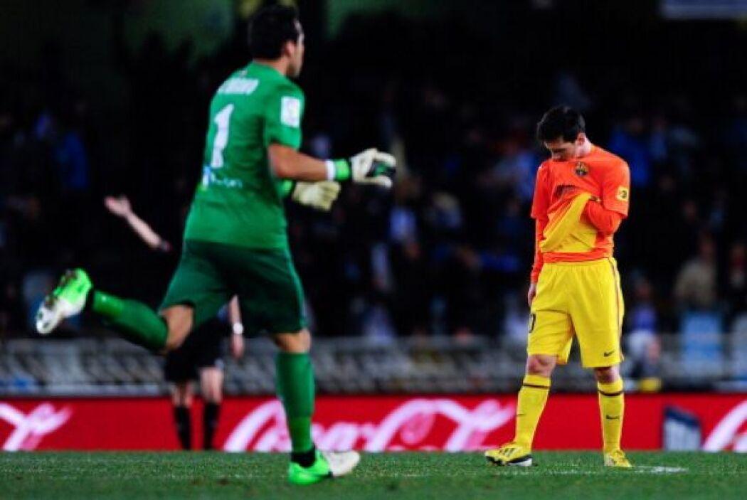 La Real Sociedad liquidaba el partido y se llevaba un triunfo sorpresivo.