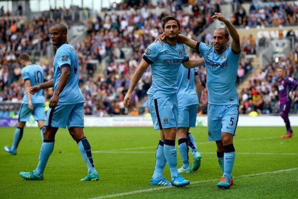 Pero el que se lleva todas las palmas y reconocimiento es Frank Lampard....
