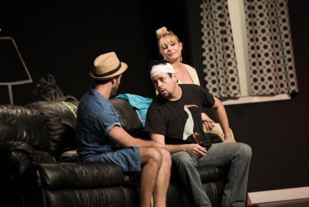 """Paula Arcila actua en la genial y divertida obra de teatro """"Taxi"""" que co..."""