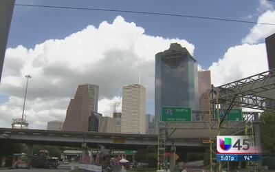 Miles disfrutan del 4 de Julio en el Centro de Houston