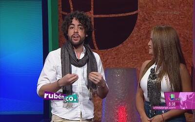 Raúl Vidal está loco por comer arroz con gandules y lechón