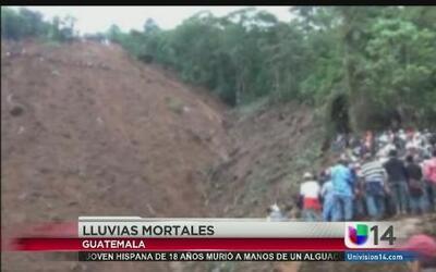 Guatemala, bajo diluvio