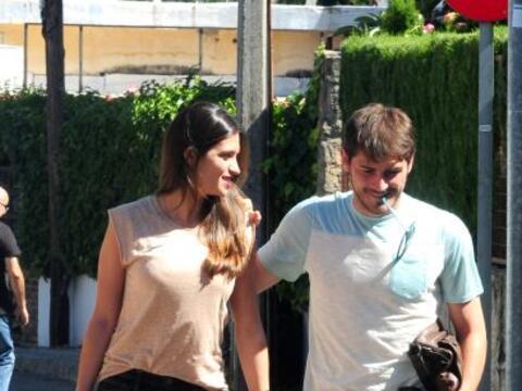 El arquero español Iker Casillas celebró sus 33 año...