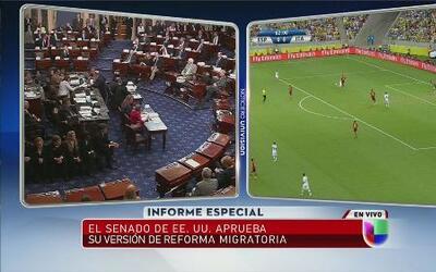 Reforma migratoria fue aprobada por el Senado de los Estados Unidos