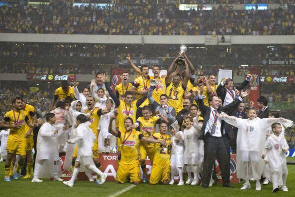 Tras conseguir el campeonato en una dramática final ante Cruz Azul, el r...