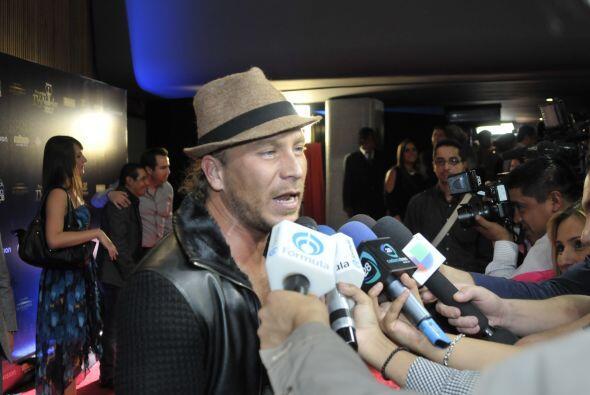 """Está nominado a Mejor Actor Antagónico por """"Abismo de Pasión""""."""