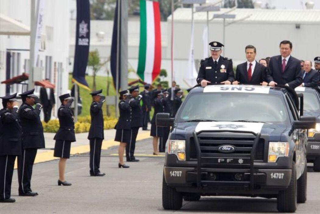 """Peña Nieto insistió que esta policía """"privilegia el uso de la investigac..."""