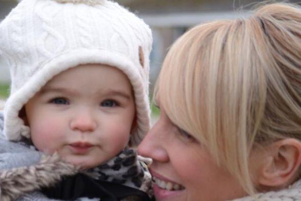 Con tantas ganas de ser mamá, Louise aguantó el gran estr&...
