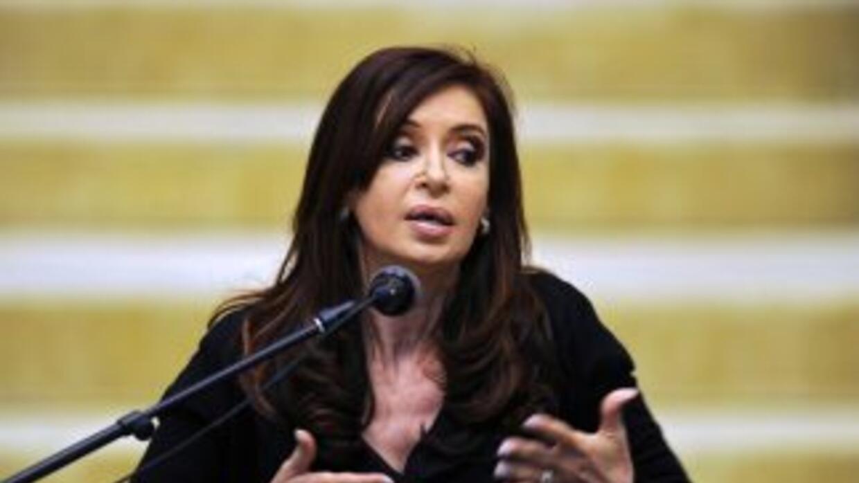 El gobierno de EU quiso saber sobre 'el estado mental' de Cristina Kirch...