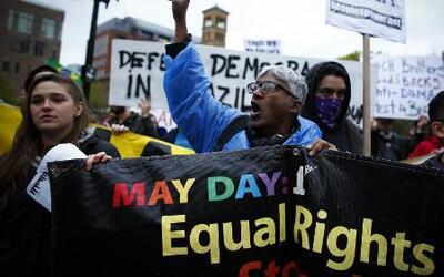 Los Ángeles marchan por igualdad laboral
