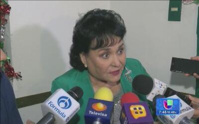 Carmen Salinas se defendió con uñas y dientes de un asaltante