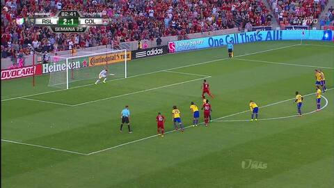 Tremenda parada!! Javier Damián Morales ataja el penalti lanzado por Tim...