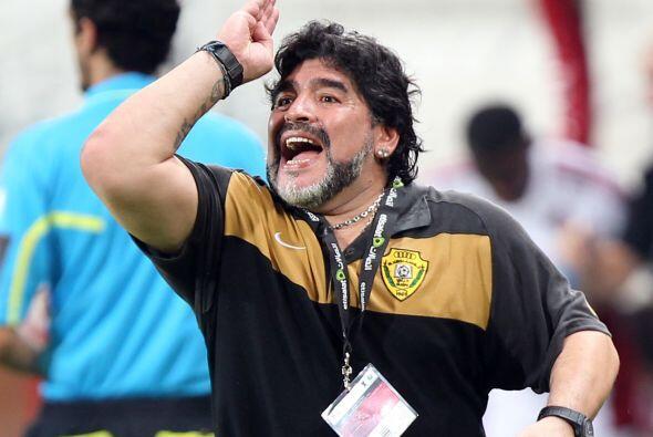 Diego mandó el equipo al ataque en busca del empate.