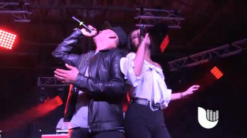 Frankie J, Becky G, Kap G and Play-N-Skillz get together for rare perfor...