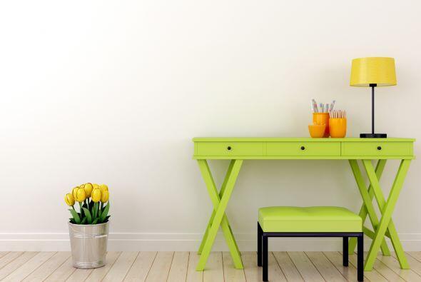 5) Un rincón green. Es una tendencia que predomina en las casas actuales...