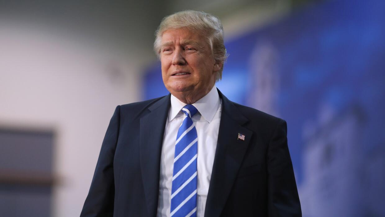 El magnate Donald Trump.