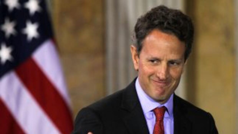 Timothy Geithner prevé que este acuerdo será bueno para la economía en e...