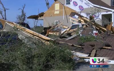 Sistema de tormentas en Georgia deja al menos a siete heridos en Bullock