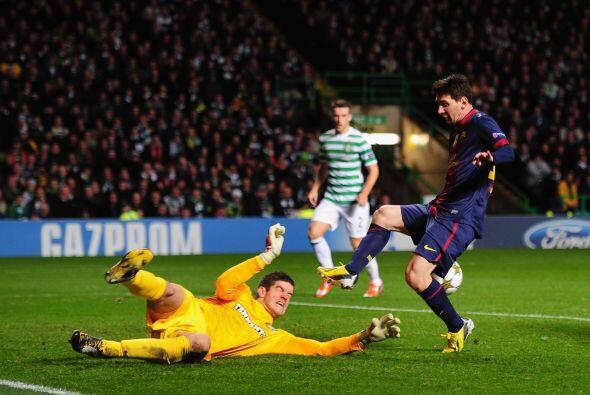 El portero del Celtic se erigió como figura para que su equipo sa...