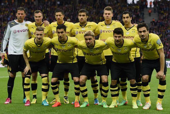 EL RETADOR: Borussia Dortmund parece ser el mayor retador del Bayern pes...
