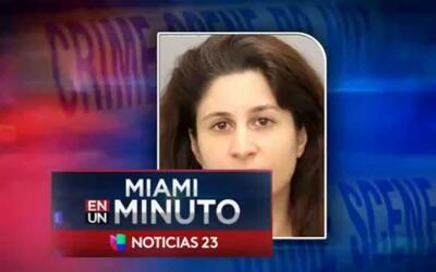 'Miami en un Minuto': una mujer es señalada de distribuir dulces con dro...