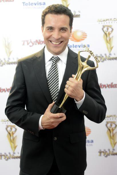Felipe Nájera como Mejor Actor Coestelar  por Mentir para vivir.