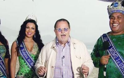 Raúl de Molina tuvo el placer de conocer a los reyes del Carnaval de Río