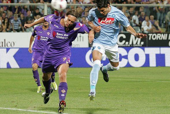 Fiorentina fue local en el duelo ante el Nápoles, un choque de fuerzas s...