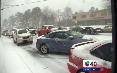 Carolina del Norte se prepara para la llegada de la tormenta invernal
