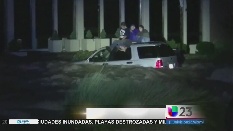 El huracán Matthew deja destrucción en Florida, Georgia, Carolina del No...