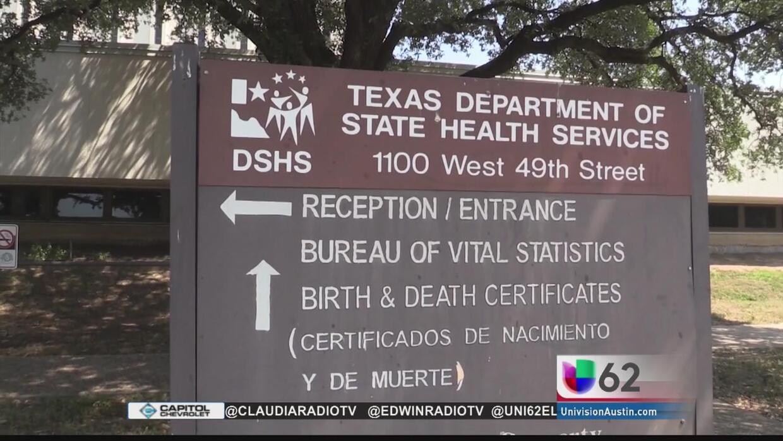 Certificados de nacimiento más accesibles en Austin