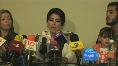 La supuesta 'Emperatriz del Ántrax' o 'Reina del narco' dio conferencia...