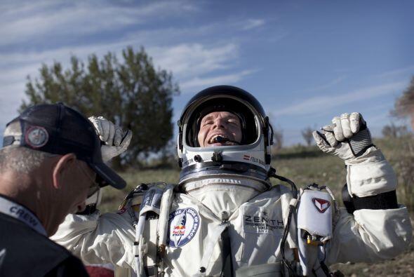 El austríaco Felix Baumgartner   desea convertirse en el primer humano e...