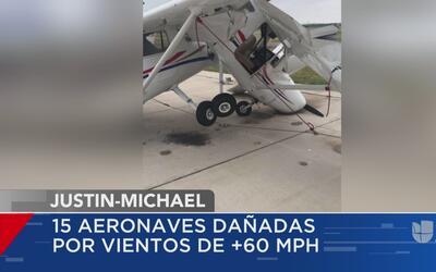 Más 15 aeronaves sufren afectaciones tras una tormenta en Texas