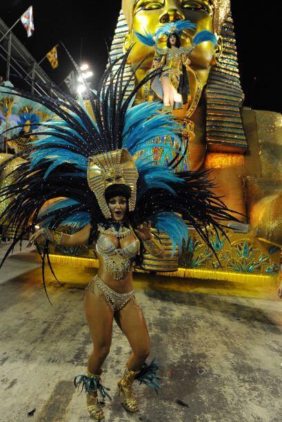 Sergio Cabral, el gobernador de Rio de Janeiro, celebró con todos...