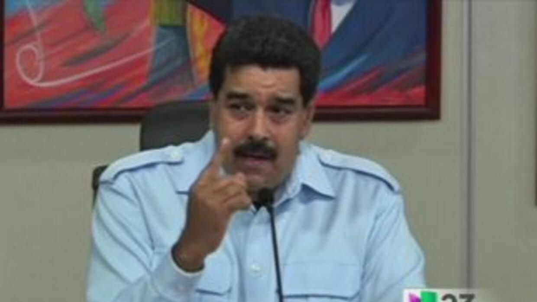 Maduro pone condiciones para reunirse con la oposición