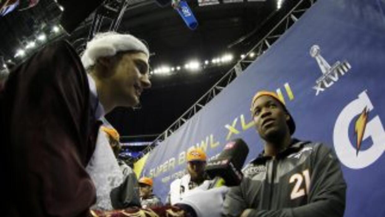 Ronnie Hillman es el inactivo más notable para el Super Bowl (AP-NFL).