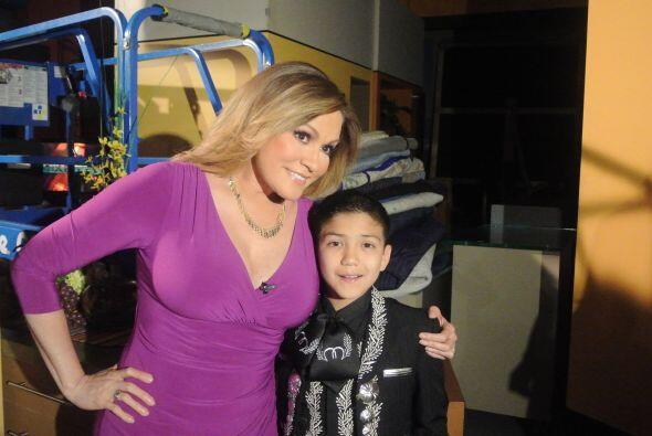 """Detrás de cámaras con Sebastien de la Cruz el """"Charro de Oro"""", el niño q..."""