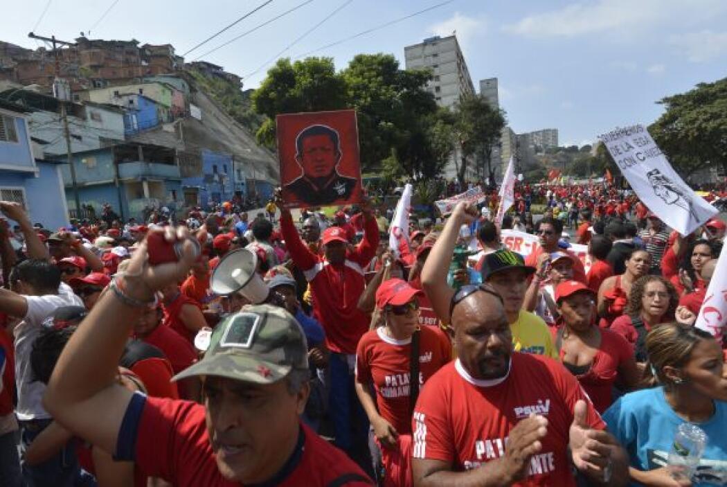 En ella, el TSJ dispuso que Chávez podía tomar juramento del nuevo perio...
