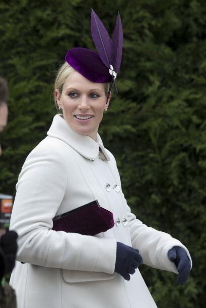 Zara Phillips: Es la nieta mayor de la reina Isabel,  al igual que su he...