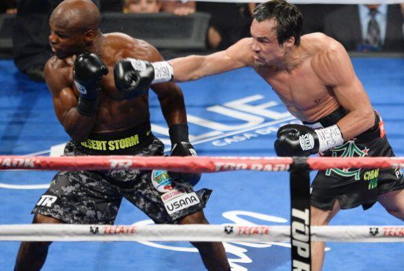 Márquez siempre buscó el combate y le hizo saber a Bradley...