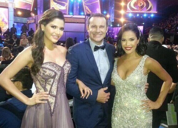 """""""El trío dinámico fiestero de @DespiertaAmeric #Premiolonuestro @AnaPatr..."""
