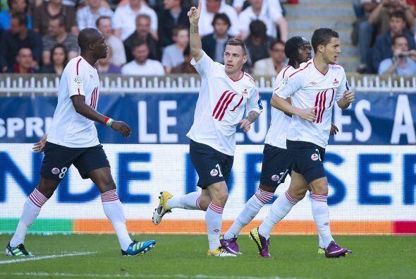 Y uno de los goles con los que el Lille sacó ese importante empat...