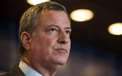 Alcalde Bill de Blasio dice que la policía de Nueva York aumentará la pr...