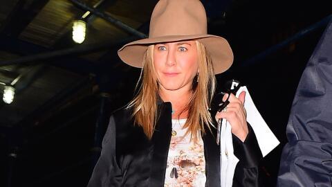 Primera aparición de Jen Aniston tras anunciarse la separaci&oacu...