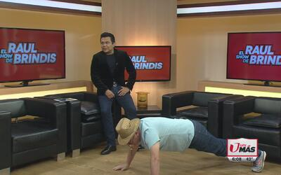 El Turky hace su ejercicio matutino