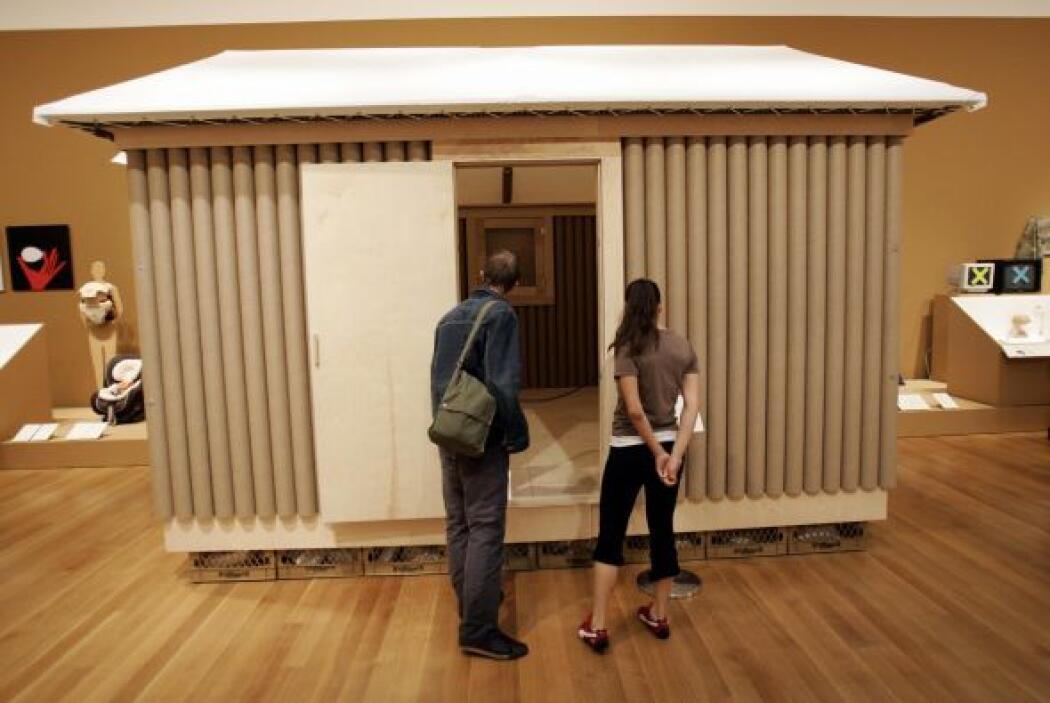 Los hogares temporales que diseña para las víctimas cuentan con una estr...