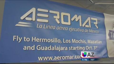 Nuevos vuelos desde Tucson a México
